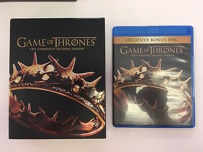 Game of Thrones: The Complete Second Season (Blu-ray/DVD Set)