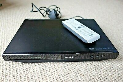 Philips DVP3600/05 DVD Player Scart With DivX ProReader Drive -Black (No Remote)