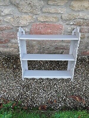 Attractive Antique/Vintage Painted Wall Shelves - old paint