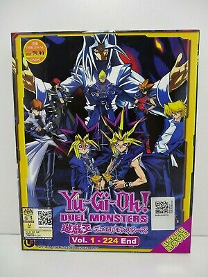 Yu-Gi-Oh!  DUEL MONSTERS  Volume 1 - 224 End + Movie - DVD