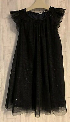 Girls Age 7-8 Years - H&M Black Party Dress