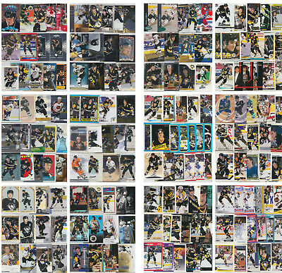 Mario Lemieux 200 Card Lot Inserts Parallels All Different Pittsburgh Penguins