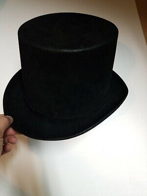 Forum Novelties Mens Deluxe Adult Satin Top Hat Costume Accessory One Size Black