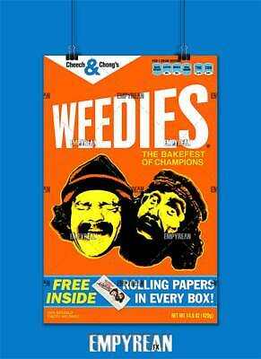 CHEECH AND CHONG POSTER ART PRINT PICTURE A3 11.7 × 16.5 INCH AMK1693
