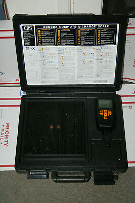 Used  CPS CC800A  refrigerant Charge Scale - compute-a-charge