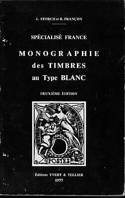 Catalogue des timbres au type Blanc