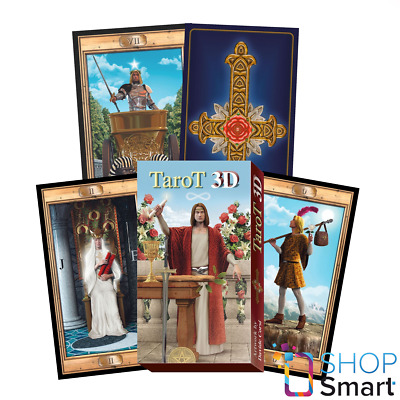 3D Grand Trumps Tarot Cards Deck Esoteric Fortune Telling Lo Scarabeo New
