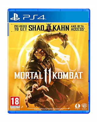 Playstation 4-MORTAL KOMBAT 11 GAME NEW