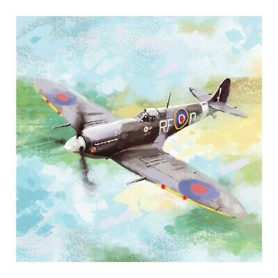 Spitfire Plane Blank Greeting Card Any Occasion / Birthday Quality Art Card NEW