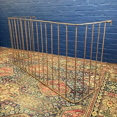 Large 19th Century Victorian Blacksmith Made Nursery Fender Country House
