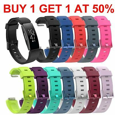For Fitbit Inspire / HR / ACE 2 Silicone Strap Replacement Band Colourful Buckle