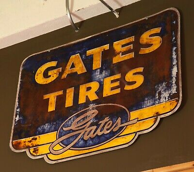 Gates Tire Sign