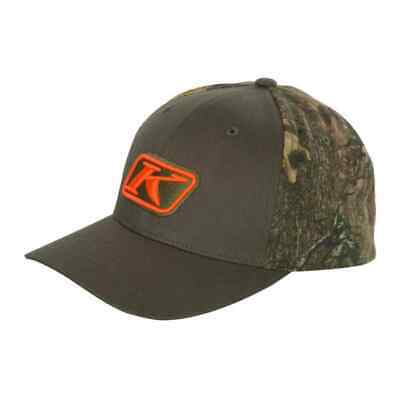 Klim Camo Mens Adjustable Snapback Hats - Military Green - One Size
