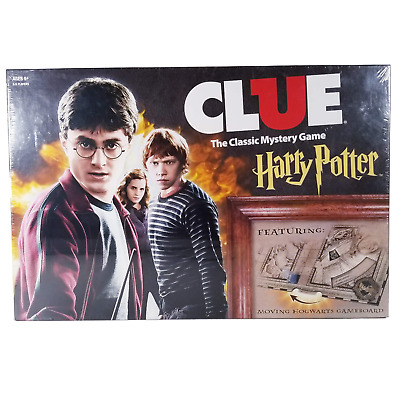Harry Potter Clue The Classic Mystery Board Game - Collector Item! - NEW+SEALED!