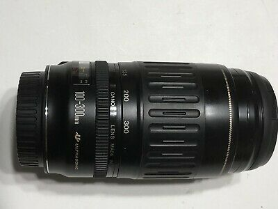 Canon EF 100-300 mm f4.5-5.6 Ultrasonic Zoom Lens Caps Used