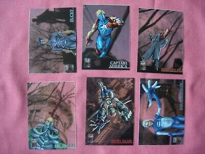 LASER BLAST DIE CUT  CHASE CARDS.....CHOOSE MARVEL PREMIUM  QFX PHOTOGRAPHIX