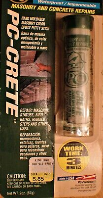 PC Epoxy 25581 PC Crete Concrete & Masonry Heavy Duty Epoxy Glue (Lot of 2) 2 Oz