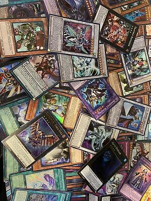 Yugioh 50 Card All Holographic Holo Foil Collection Lot!