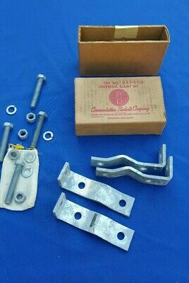 Communication Products Company Galvanized Universal Clamp Set NOS