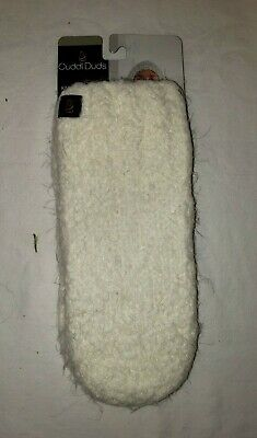 Cuddl Duds Women's Soft Knit Mittens Winter One Size Ivory NWT