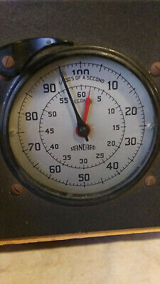 Antique Industrial Timer Standard Electric Time Model S-1 A Working STEAMPUNK