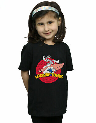Looney Tunes Girls Bugs Bunny Surfing T-Shirt
