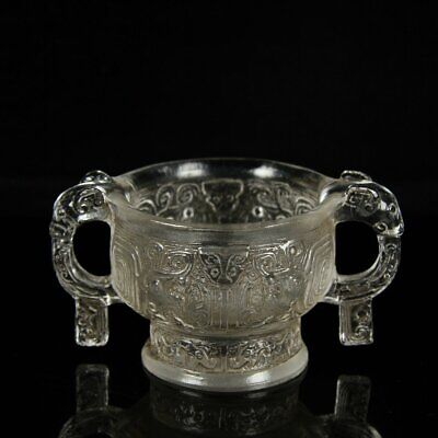 Chinese Exquisite Handmade Glass cup