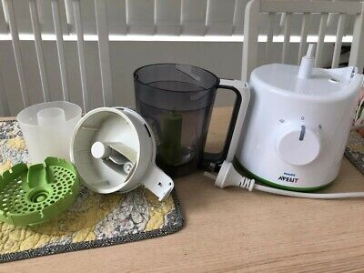 Philips Avent 112623 Combined Steamer and Blender BPA - White