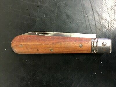 Unusual French Tradesman Agricultural Folding Knife