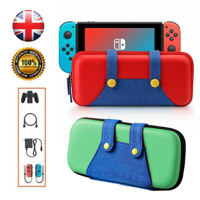 Carry Case For Nintendo Switch Mario Pokemon Travel Bag Protective Game Storage
