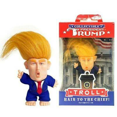 President Donald Trump Collectible Troll Doll Make America Great Again Figure !