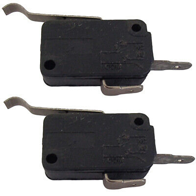 2 Micro Switches 2 Prong For Club Car DS Precedent Golf Cart Gas Elect 1014808