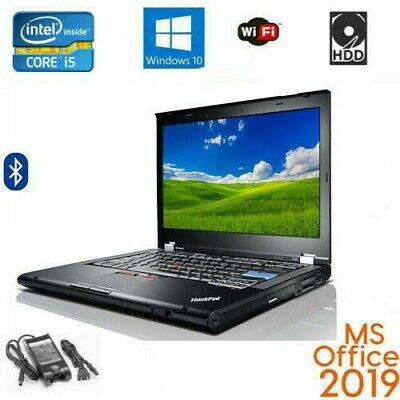 Lenovo ThinkPad laptop Core i5 8GB 500GB DVD Win10 pro MS Office