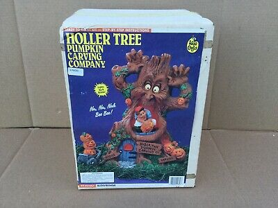 Accents Unlimited Wee Crafts HALLOWEEN HOLLER TREE 21667 SEALED NEW