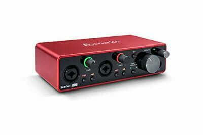 Focusrite AMS-SCARLETT-2I2-3G (3rd Gen) USB Audio Interface with Pro Tools First
