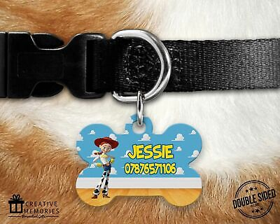 Dog Tag - Pet ID Tag - ID Tag - Personalised - Toy Story - Jessie Style