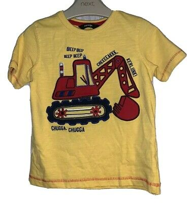 Boys Age 2-3 Years - Trendy T Shirt From George