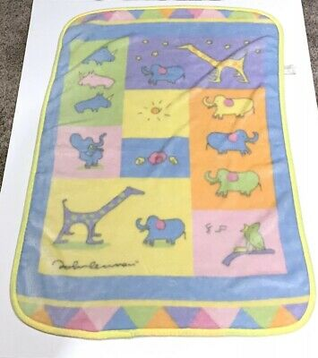 Carters John Lennon Imagine Real Love Luxury plush fleece baby blanket
