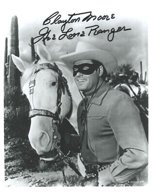 """Jay """"Tonto"""" Silverheels - Collection With Clayton """"The Lone Ranger"""" Moore"""