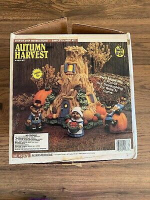 Accents Unlimited Wee Crafts AUTUMN HARVEST 21672 NEW