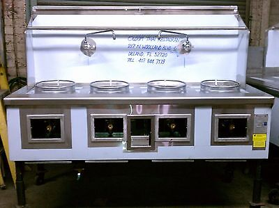 4 Hole 4 Burner CPA-4 Chinese Wok Range NSF & CSA NEW Contact Us For Details!