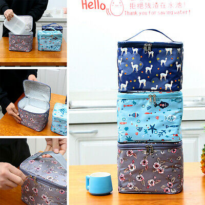 Supplies Thermal Insulated Lunch Box Lunch Bag Food Storage Picnic Pouch
