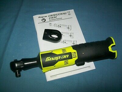 """New Snap-on™ Lithium Ion 14.4V 3/8"""" drive Cordless Impact Ratchet CTR761CHVDB"""