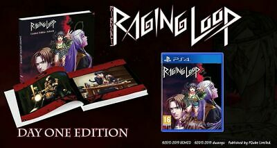 Raging Loop Day One Artbook Edition PS4 * NEW SEALED PAL *