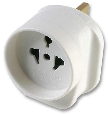 ALL CONTINENTS TO UK TRAVEL ADAPTOR Connectors Electrical