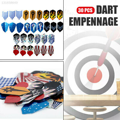 27E5 24 sets 72pcs 2D Cool Standard Dart Flights Nice Darts Tail Flight