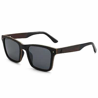 bamboo case Wild Wood Eco-Friendly Wooden Sunglasses Polarised UV400 JR BR
