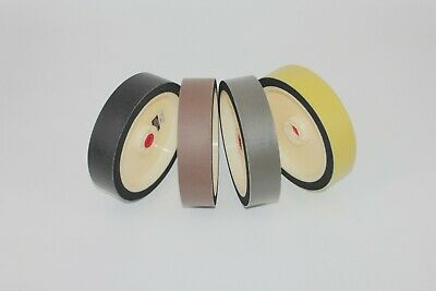 "8""x2"" 280 600 1200 3000Grit Lapidary Napping REZ Resin Soft Grinding Wheel"