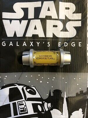 Star Wars: Galaxys Edge YELLOW Kyber Holocron Saber Crystal Disney Sealed NEW