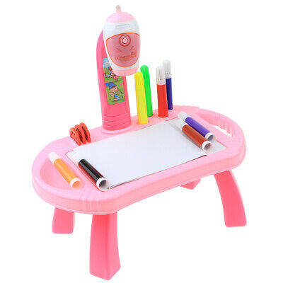 Prettyia Painting Projection Early Education Learning Drawing Board For Kids